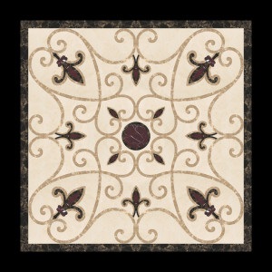 WATER-JET SQUARE